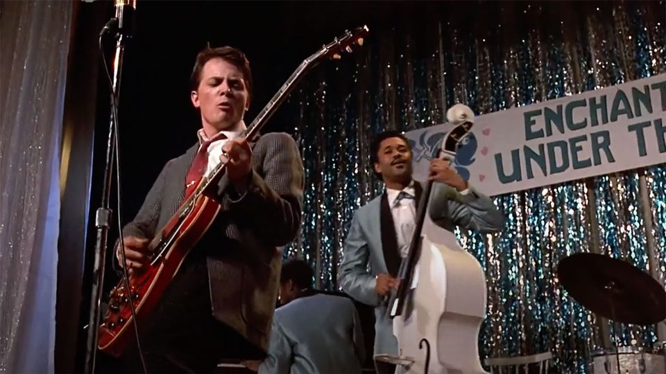 Back To The Future – Marty Playing Guitar